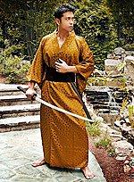 Goldener Kimono