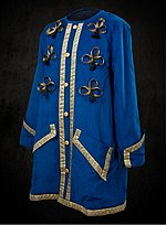Blue & Gold Dress Coat
