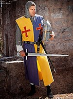 Yellow & Blue Surcoat