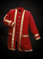 Red & Gold Dress Coat