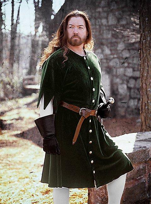 Green Mens Cotehardie