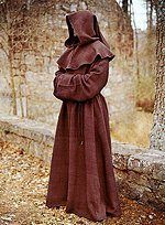 Brown Cowl & Robe