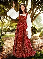 Noble Dress Wine Red