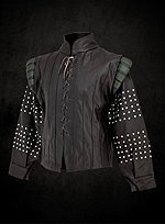Lace Up Leather Doublet
