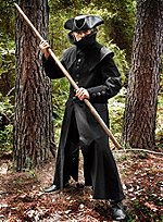 Black Mens Duster
