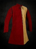 Particolored Gambeson with Detachable Sleeves