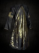 Black & Gold Oriental Coat