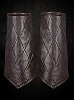 Quilted Leather Bracers