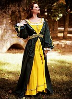 Lightweight Renaissance Kirtle with Chemise