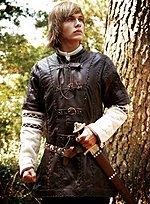 Leather Half Sleeve Jerkin