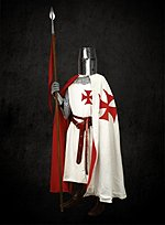 Templar Knights Cape