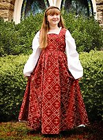 Girls Dress Renaissance