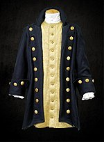 Captain Coat Blue