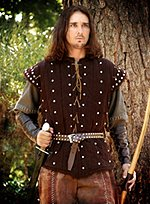 Gambeson and Shirt with Studs