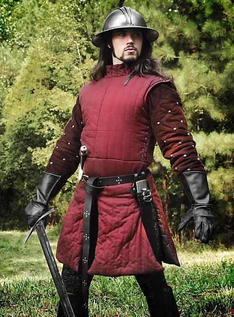 Wine Red Gambeson
