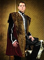 Henry VIII Coat with Fur Collar The Tudors