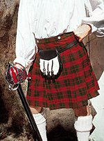 Kilt Red & Green