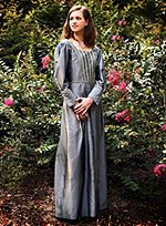 Renaissance Dress Gray