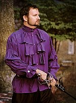 Violet Baroque Shirt