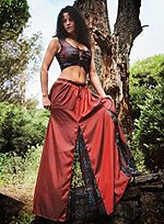 Long Skirt with Reversible Bodice