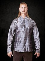 Silberfarbenes Hemd