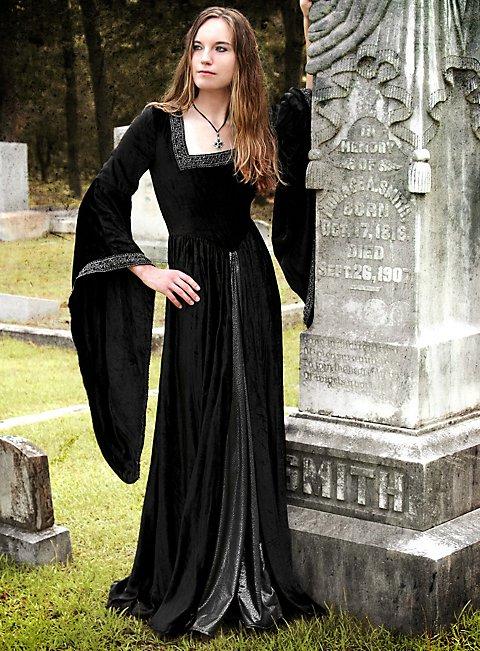 Renaissance Dress Black