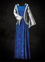 Blue Velveteen Surcote