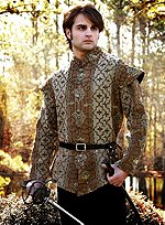 Golden Patterned Doublet