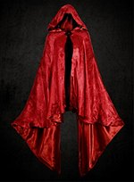 Riding Hood Red Damask