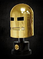 Marvel Iron Man Helm Gold