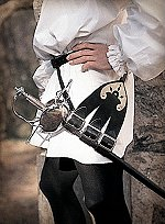 Leather Rapier Holder with Belt