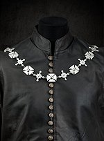 Livery Collar with Crosses Pattee