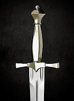 Dagger with Nickel Silver Hilt
