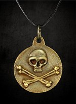 Necklace with Skull & Crossbones Pendant