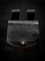 Celtic Belt Pouch Black