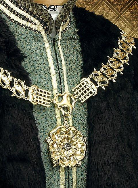 Tudor Rose Livery Collar Gold