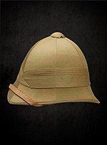 Beige Pith Helmet