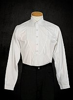 White Shirt with Wing Collar