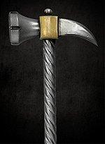 Streithammer mit Rabenschnabel Polsterwaffe