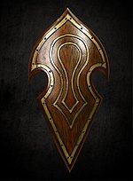 Elven Shield LARP Weapon