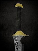 Original Age of Conan Acheronian Sword Foam Weapon