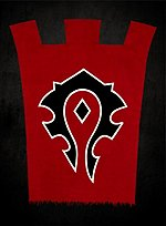 World of Warcraft Banner Horde
