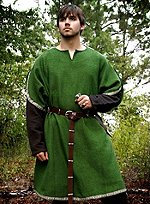 Green Tunic with Chaperon