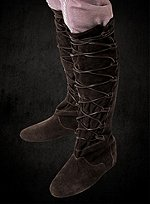 Knee High Brown Suede Boots