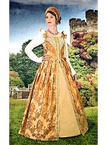 Elizabethan Dress Amber