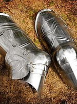 Gothic Plate Greaves