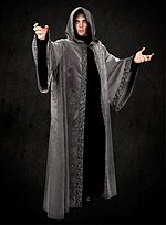 58a768887d Black Robe with Hood and Tabard