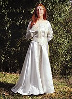 Elegant Medieval Wedding Dress