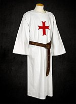 White Tunic with Cross Moline