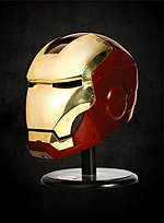 Original Marvel Iron Man Helmet Mark III